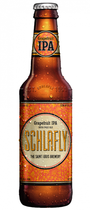 Grapefruit IPA by Schlafly Beer in Missouri, United States