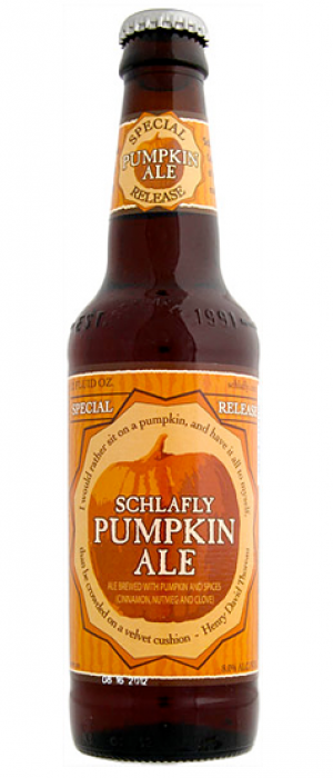 Pumpkin Ale by Schlafly Beer in Missouri, United States