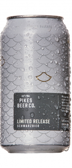 Schwarzbier by Pikes Beer Company in South Australia, Australia