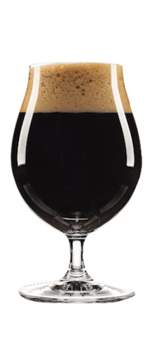Sea Salt & Caramel Stout by Flying Boats Brewing in New Brunswick, Canada