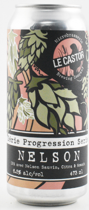 Serie Progression: Nelson by Microbrasserie Le Castor Brewing Co. in Québec, Canada