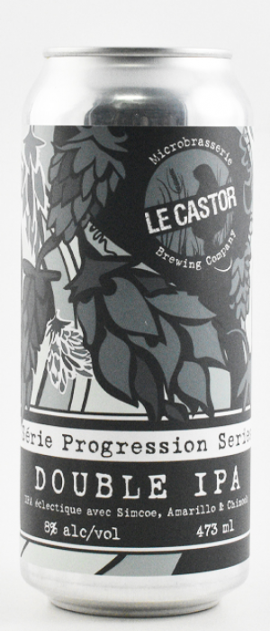 Serie Progression: Double IPA by Microbrasserie Le Castor Brewing Co. in Québec, Canada