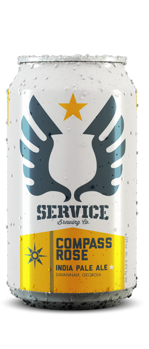 Compass Rose IPA by Service Brewing Co. in Georgia, United States