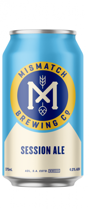 Session Ale by Mismatch Brewing Co. in South Australia, Australia