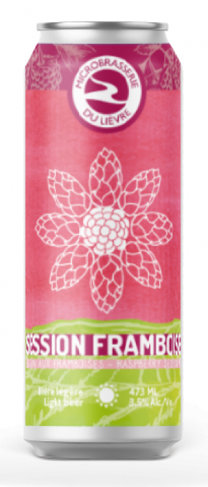 Session Framboise by Microbrasserie du Lièvre in Québec, Canada