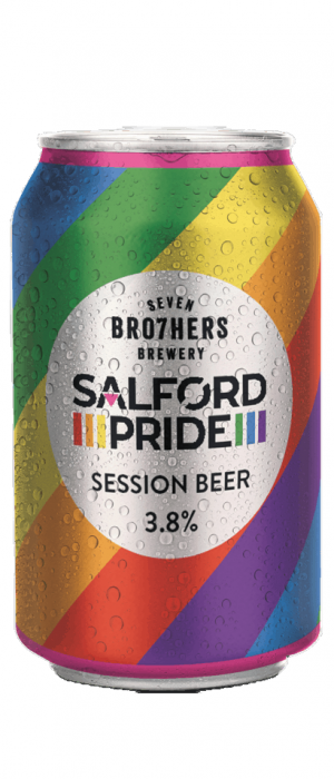 Salford Pride Session Beer by SEVEN BRO7HERS in Greater Manchester - England, United Kingdom
