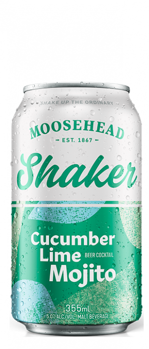 Shaker Cucumber Lime Mojito by Moosehead in New Brunswick, Canada