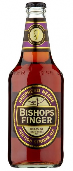 Bishops Finger by Shepherd Neame in Kent - England, United Kingdom