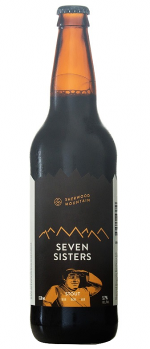 Seven Sisters Stout by Sherwood Mountain Brewhouse in British Columbia, Canada