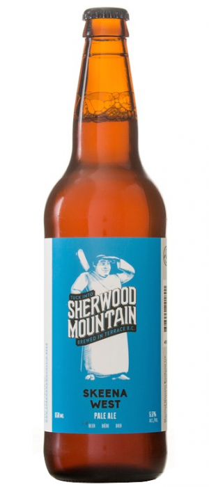 Skeena West Pale Ale by Sherwood Mountain Brewhouse in British Columbia, Canada
