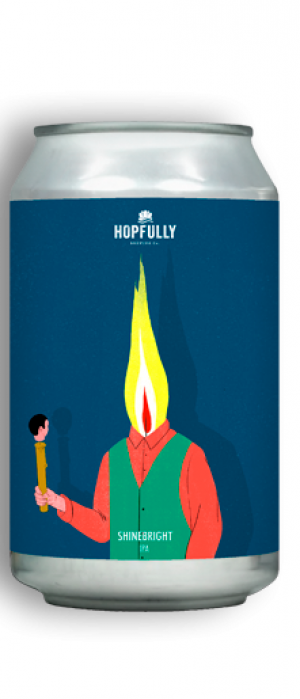 Shinebright by Hopfully Brewing Co. in Leinster, Ireland