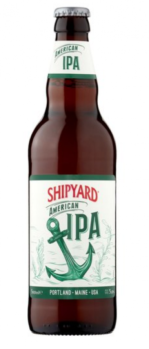 Shipyard American Pale Ale by Shipyard Brewing Company in Maine, United States