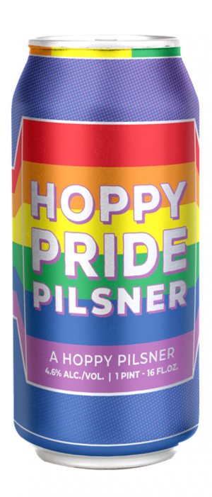 Hoppy Pride by Shipyard Brewing Company in Maine, United States