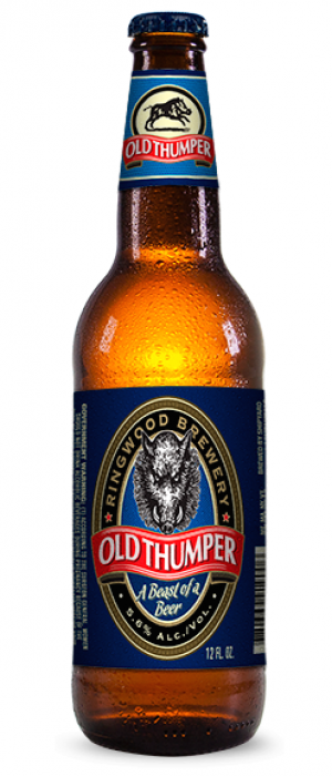 Old Thumper by Shipyard Brewing Company in Maine, United States