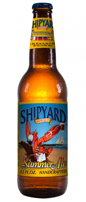 Summer Ale by Shipyard Brewing Company in Maine, United States