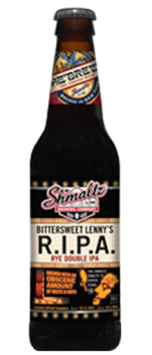 Bittersweet Lenny's R.I.P.A. by Shmaltz Brewing Company in New York, United States