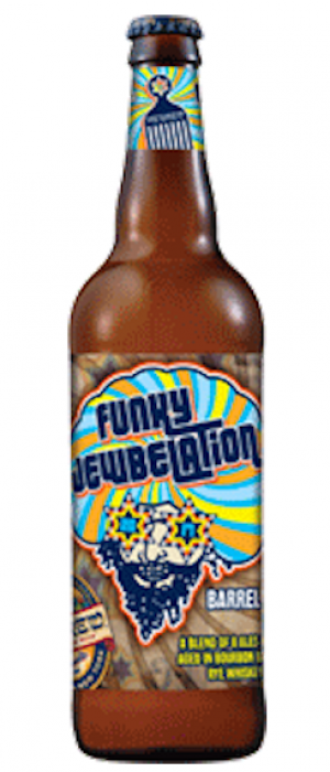 Funky Jewbelation 2017 by Shmaltz Brewing Company in New York, United States