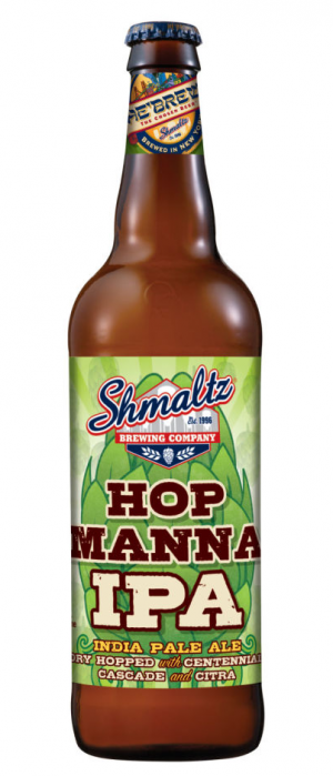 Hop Manna IPA by Shmaltz Brewing Company in New York, United States