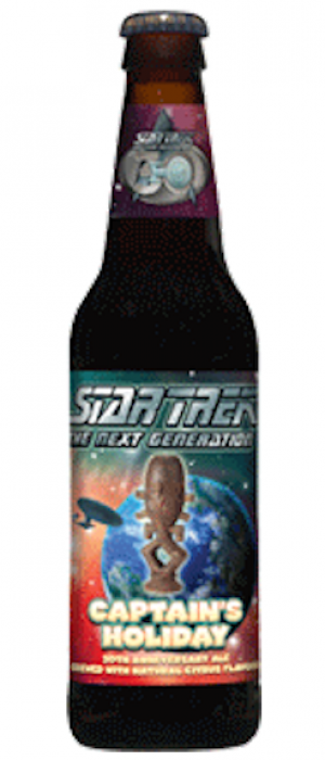 Star Trek The Next Generation: Captain's Holiday by Shmaltz Brewing Company in New York, United States