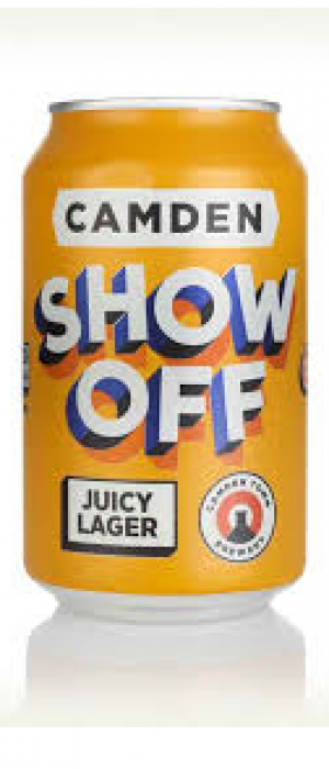 Show Off by Camden Town Brewery in London - England, United Kingdom