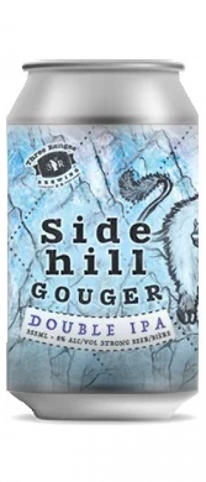 Sidehill Gouger DIPA by Three Ranges Brewing in British Columbia, Canada