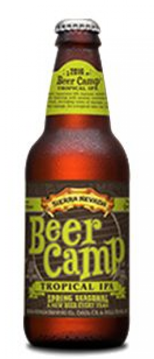 Beer Camp Tropical IPA by Sierra Nevada Brewing Company in California, United States