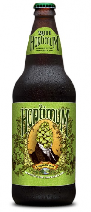 Hoptimum Imperial IPA by Sierra Nevada Brewing Company in California, United States