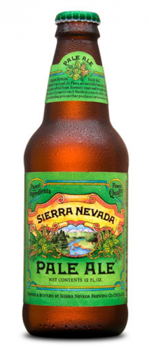 Pale Ale by Sierra Nevada Brewing Company in California, United States