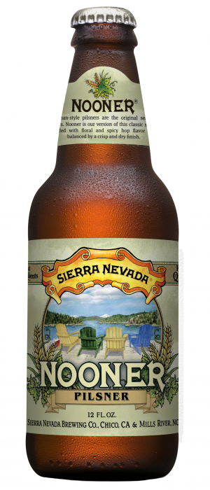 Nooner Pilsner by Sierra Nevada Brewing Company in California, United States
