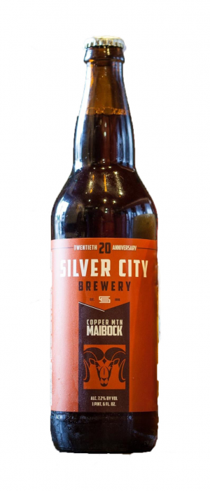 Copper Mountain Maibock by Silver City Brewery in Washington, United States