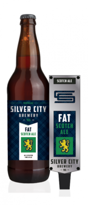 Fat Scotch Ale by Silver City Brewery in Washington, United States