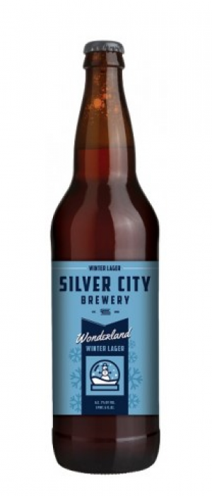 Wonderland Winter Lager by Silver City Brewery in Washington, United States