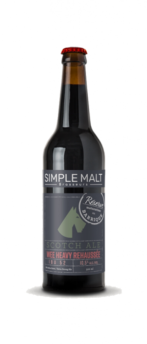 Scotch Ale Reserve by Simple Malt Brasseurs in Québec, Canada