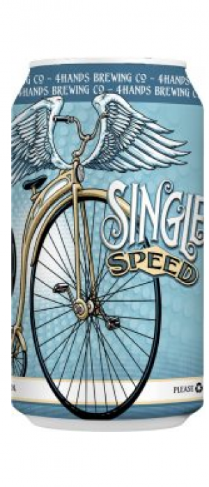 Single Speed by 4 Hands Brewing Co. in Missouri, United States