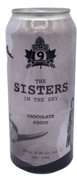 The Sisters in the Sky by Buffalo 9 Brewing Company in Alberta, Canada