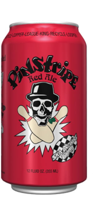 Pinstripe Red Ale by SKA Brewing Company in Colorado, United States