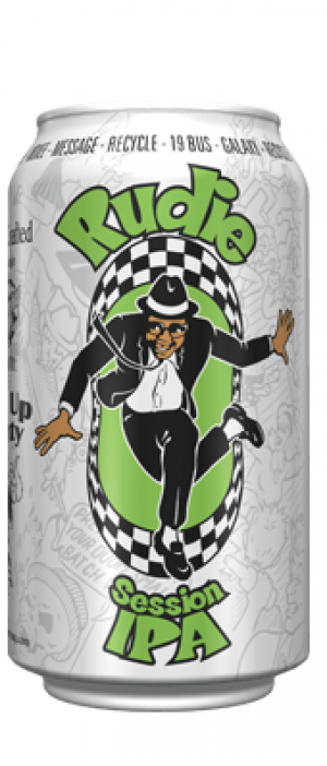 Rudie Session IPA by SKA Brewing Company in Colorado, United States