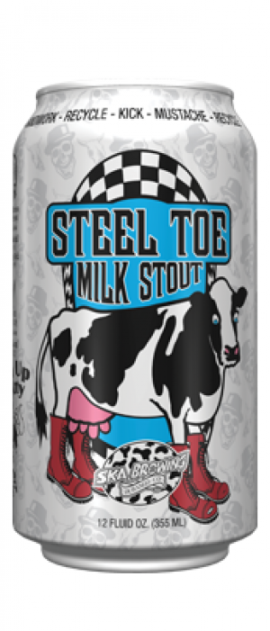 Steel Toe Stout by SKA Brewing Company in Colorado, United States