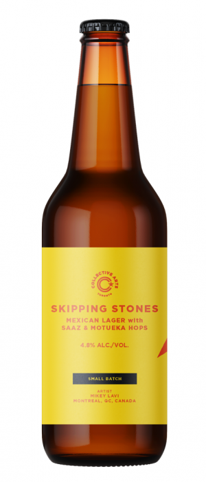 Skipping Stones by Collective Arts Brewing in Ontario, Canada