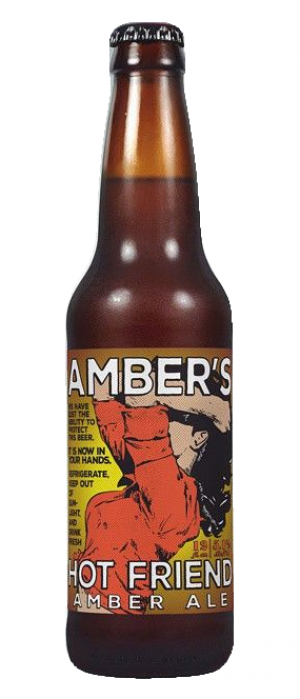 Amber's Hot Friend by Skookum Brewery in Washington, United States