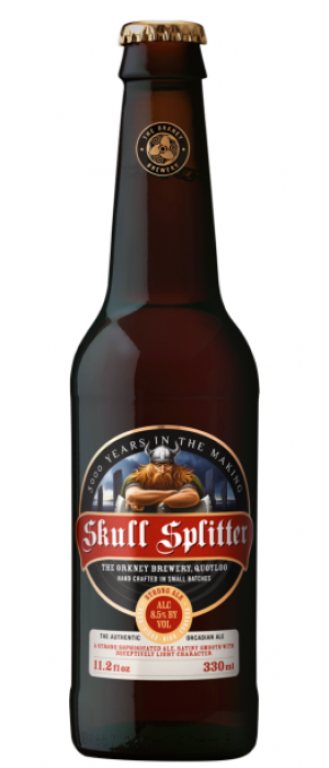 Skull Splitter by The Orkney Brewery in Kirkcudbrightshire - Scotland, United Kingdom