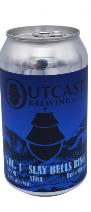 Slay Bells Ring by Outcast Brewing in Alberta, Canada