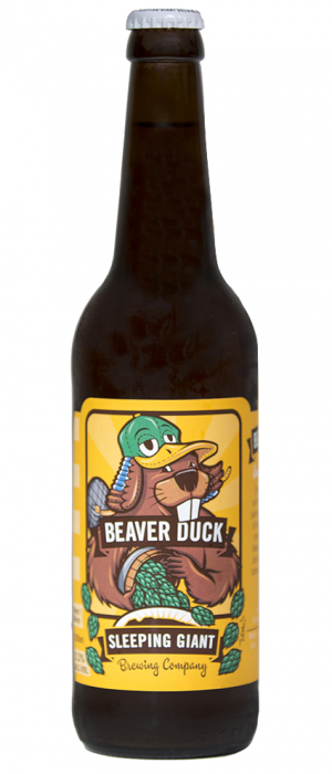 Beaver Duck by Sleeping Giant Brewing Company in Ontario, Canada
