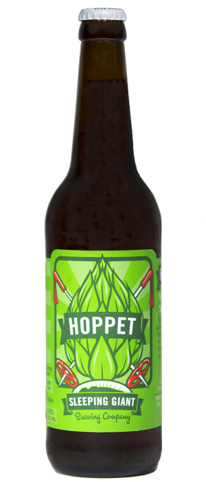Hoppet IPA by Sleeping Giant Brewing Company in Ontario, Canada