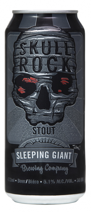 Skull Rock Stout by Sleeping Giant Brewing Company in Ontario, Canada