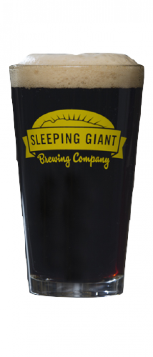 Snow Goose Coffee Vanilla Porter by Sleeping Giant Brewing Company in Ontario, Canada