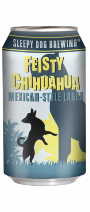 Feisty Chihuahua Mexican Style Lager by Sleepy Dog Brewing in Arizona, United States