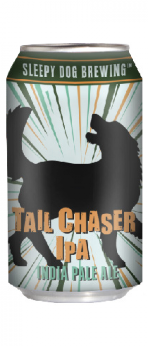 Tail Chaser IPA by Sleepy Dog Brewing in Arizona, United States