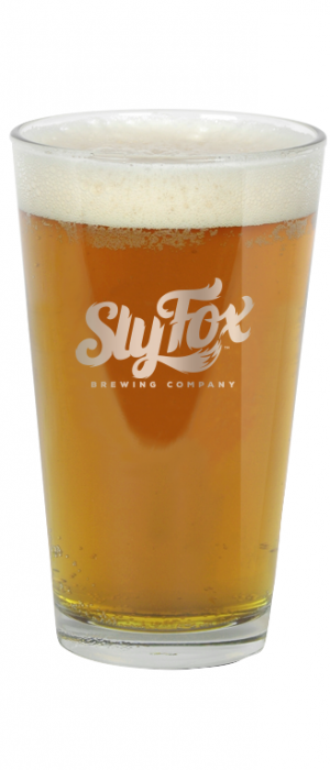 Gold Rush Lager by Sly Fox Brewing Company in Pennsylvania, United States