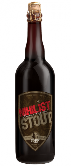 Nihilist Stout by Sly Fox Brewing Company in Pennsylvania, United States